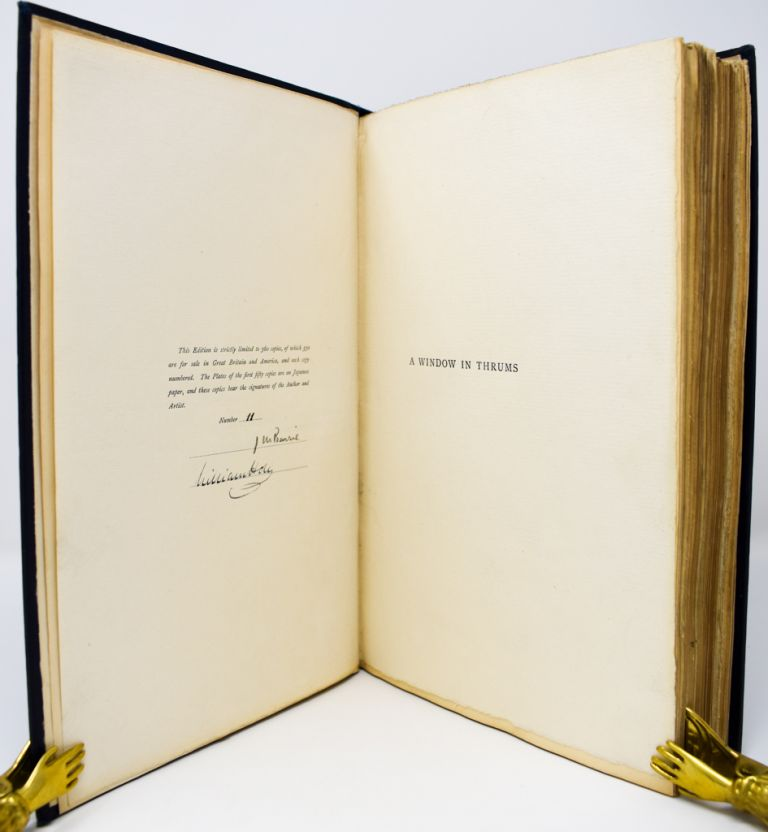 A Window in Thrums [Signed limited]. J. M. Barrie, William Hole.