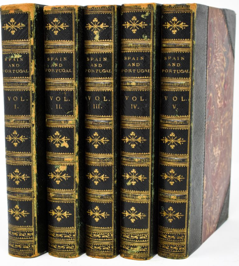 The Cabinet of History . . .Spain and Portugal [5 volumes]. Dionysius Lardner.