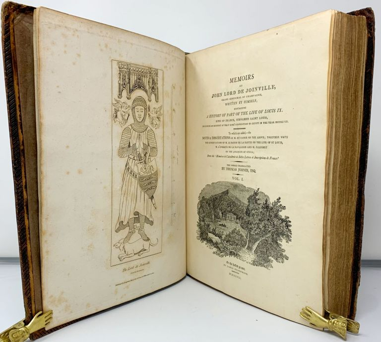 Memoirs of John Lord de Joinville . . . Containing a History of Part of the Life of Louis IX . . transl., Private Press, Wales, Crusades, Lord John de Joinville, Thomas Johnes.