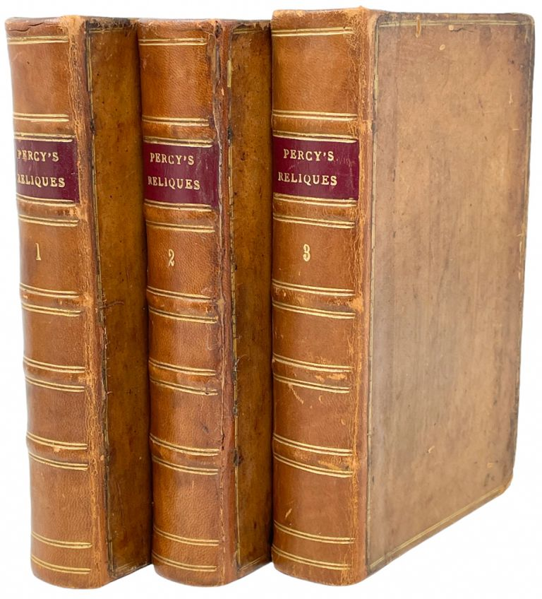 Reliques of Ancient English Poetry. Thomas Percy.