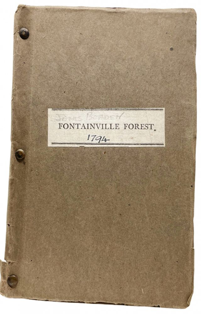 Fontainville Forest, a Play, in five Acts (founded on the Romance of the Forest). . James Boaden, Ann Radcliffe.