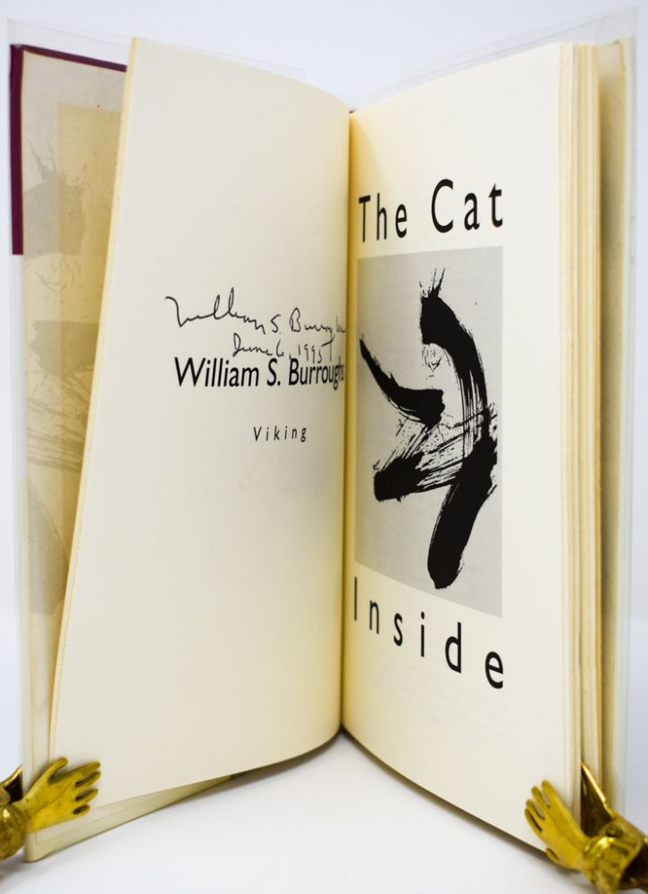 The Cat Inside [Signed and dated]. William S. Burroughs.