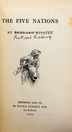 The Five Nations [Signed by Kipling]