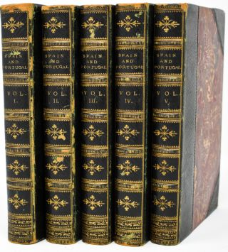The Cabinet of History . . .Spain and Portugal [5 volumes]. Dionysius Lardner