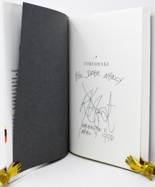 Timequake [Signed and inscribed]. Kurt Vonnegut